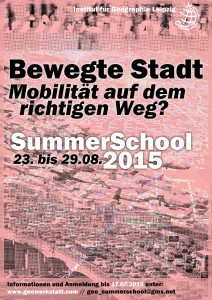 SummerSchool - Bewegte Stadt
