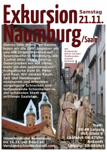 Exkursion Naumburg 21.11.2015