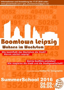 SummerSchool 2016 - Boomtown Leipzig
