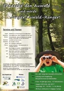Plakat Auwaldranger 2016-2017