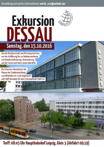 Dessau-Exkursion 15.10.