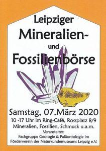 Mineralienbörse Leipzig 2020